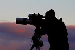 Silhouette (Ggreybeard) Tags: astro astronomy telescope refractor silhouette shadow equatorialmount