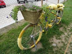 Bicycle art / Fahrrad-Kunst (Mc Steff) Tags: landesgartenschauöhringen2016 bicycle art fahrradkunst fahrrad kunst tandem