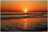 sunset (Alex Chirila) Tags: ijmuiden ann zee sea water sunset red sun reflection canon eos m10 1545 mm north