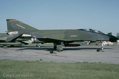 66-7749  F-4D  89TFS/906TFG  DO (caz.caswell) Tags: usaf unitedstatesairforce f4 phantom spook rhino rf4 qf4 667749 89tfs906tfg londonintlairport yxu
