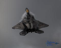 F-22 vapor (plane driver) Tags: f22 demo beale airforce unitedstates vapor climb airshow fighter jet military aviation canon 70d sigma 150600mm 9rw
