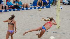 CBVA: AUG_0384 (Kevin MG) Tags: kids child teen sport beach manhattanbeach sand ball net player athlete volleyball beachvolleyball girl bikinis young youth cute pretty cbva