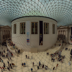 Sunday Afternoon British Museum (davepickettphotographer) Tags: london britishmuseum cityoflondon city uk sunday travel photography england greatrussellstreet holborn greatcourt glassroof innercourtyard