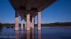18 (munn1) Tags: 20180511portmannbridge canada coquitlam britishcolumbia portmannbridge nikon nikor neon newwestminster 247028 bw 10stop nd graphic bridge blue