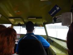 Taking the Duck into the Lake (VJ Photos) Tags: hardison newzealand rotorua tikitapubluelake