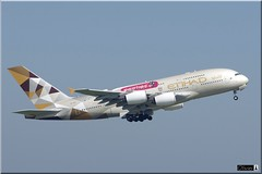 Airbus A380-861, Etihad Airways, A6-APE (OlivierBo35) Tags: spotting spotter cdg roissy airbus a380 etihad