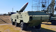 """Tactical ballistic missile """"Tochka-U"""" (sirgunho) Tags: preserved minsk belarus loshany stalin line museum линия сталина tactical ballistic missile tochkau soviet union army air force red forces world war two lenin communism nato tank gun armoured vehicle car diggers enginering"""