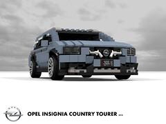 Opel Insignia B - Country Tourer AWD - 2018 (lego911) Tags: opel insignia b 2018 2010s mkii ii country tourer wagon estate awd psa gm general motors e2xx europe germany german auto car moc model miniland lego lego911 ldd render cad povray