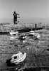 Lynmouth Harbour ([J Z A] Photography) Tags: devon leicam7 lynton exmoor lynmouth fujineopan400 rodinal150 35mm uk analog bw blackandwhite jzaphotography mono monochrome voigtlandercolorskopar21mm attreecouk filmisnotdead grainisgood ishootfilm