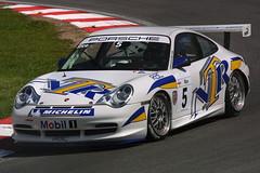 Nigel Rice - Red Line Racing - Porsche GT3 Cup (Boris1964) Tags: 2005 porschecarreracupgb brandshatch