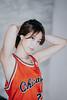 Chia (Randy Wei) Tags: xf56mm xt1 fujifilm jordan chicago bulls jersey red earrings ringlights profile portrait indoors