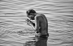 "Ganges Ablutions, Varanasi (El-Branden Brazil) Tags: varanasi india indian ganges ganga ceremony hindu hinduism asian asia sacred holy mystical ""south asia"" sadhu"