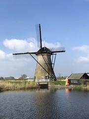 2018.04 Viking Rhine River Cruise - Kinderdijk (Traci L.A.) Tags: 2018 viking rhine river cruise april europe kinderdijk windmill