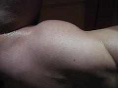 BULGING BICEPS (FLEX ROGERS) Tags: biceps muscles muscular workout bodybuilder bodybuilding flex flexing peak abs pecs chest guns fit musclemodel pumped massive