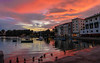 Floridian Sunset (howard1916 - Something for everyone!) Tags: sunset water portofino bay hotel