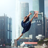 (dimitryroulland) Tags: nikon d600 85mm 18 dimitryroulland dance dancer ballet ballerina flexible people flexibility singapore asia trip travel natural light morning city urban street bay marina marinabay jump split pointe free freedom performer art artist