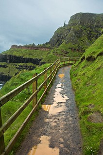 Giant's Causeway, The Chimney Stacks