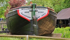 Reliance (MedievalRocker) Tags: stern barge nationaltrust riverweynavigation dapdunewharf boatshed guildford chalico