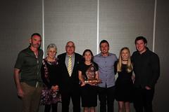 2017 Presentation Night - Scott Family Photo