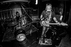 DEAD MAN'S BLUES FUCKERS (Marco Mosti) Tags: bw blackwhite contrast d800e fisheye intentionalcameramovement live music nikon people retrorock stonerrock art concert lights photojournalism deadmansbluesfuckers rock parma emiliaromagna italia it ⓒmarcomostiphotography