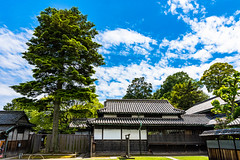 Nozaki Historic House (Hiro_A) Tags: kojima okayama japan historical house tree sky architecture cloud nikon d7200 sigma 1770mm 1770