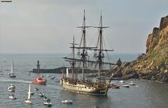 L'Hermione (firedmanager) Tags: lhermione barco ship sailingvessel vessel pasaia navío lafayette