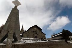 Catholic Church St. Mauritius (Bephep2010) Tags: 2016 77 alpha graubünden grisons kirche mauritius sal1650f28 slta77v sanmaurizio sanmurezzan schnee schweiz sony stmoritz switzerland winter catholic church katholisch snow sanktmoritz ch