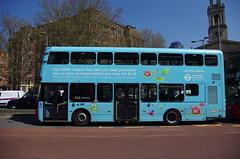 IMGP9190 (Steve Guess) Tags: arriva wright volvo hopper tfl advert waterloo tennisonway lambeth london england gb uk bus transportforlondon hv355