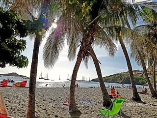 Sunset by the sea #Guadeloupe #Pigeon #beach #sea #sunset #sunnyday #sunnysky #water #reflets #carribeanlifestyle #carribeancolours #carribeanbeach #Guadeloupeforever #travel #trip #placetosee #placetovisit #placetobe #vacation #photography #Gwada