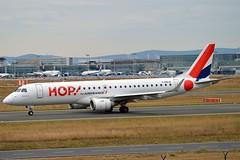 Hop! F-HBLB Embraer ERJ-190LR (ERJ-190-100 LR) cn/19000060 opby Régional @ EDDF / FRA 19-09-2016 (Nabil Molinari Photography) Tags: hop fhblb embraer erj190lr erj190100 lr cn19000060 opby régional eddf fra 19092016