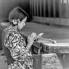 I like that one.... (katebosworth1) Tags: kyoto selfie women kimono flower cellphone sony portrait