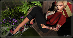 ♥ Look at Me.... ♥ (ladychrissseyyal) Tags: ♥ look me poses26 whoa women set s26 lostfound makeuparise keri makeup 2 arise l8 httplimit8slcom stitched cut men only monthly shirt pantsjustice anna outfit justice shoes stelloane daddys ojo pumps tattoojuna amelie tattoo woman juna decor tmcreation ~stone ivy flowers ~shrubs bush
