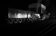 GWS 73983bw (kgvuk) Tags: gws didcot didcotrailwaycentre unionofsouthafrica 60009 a4 pacific 462 steam locomotive engine train railway lner br britishrailways flyingscotsman 60103 a3 4472 nightphotography