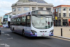 First Manchester BD11CEV *In Explore* (Mike McNiven) Tags: first manchester volvo wright eclipse bolton interchange withins circular