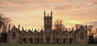 Aberford Manor House Sunset
