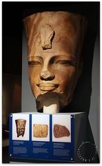Amenhotep III (zweiblumen) Tags: amenhotepiii pharaoh ancient statue egypt egyptian worldmuseum liverpool merseyside england uk canoneos50d polariser zweiblumen picmonkey