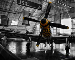 HDR of Upapa Epops and More in the FHCAM Hangar With a Touch of Color (AvgeekJoe) Tags: d5300 dslr fhc fhcam flyingheritagecollection flyingheritageandcombatarmormuseum hdr nikon nikond5300 northamericanaviation northamericanp51 northamericanp51d northamericanp51dmustang p51 p51mustang p51d p51dmustang selectivedesaturation upapaepops warbirds aircraft airplane aviation militaryaviation plane warbird flyingheritagecombatarmormuseum washingtonstate washington usa