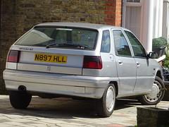 1996 Citroen ZX Memphis 1.9TD (Neil's classics) Tags: vehicle car 1996 citroen zx 19td