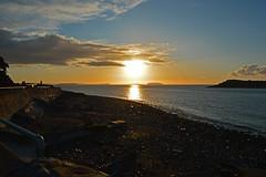 Three Islands Sunrise (cmw_1965) Tags: flatholm steepholm flat steep holm sully swanbridge bristol channel sunrise dawn daybreak seascape sea seaside wales welsh south glamorgan jurassic coast coastline