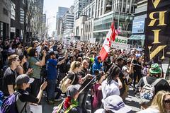 Toronto Global Marijuana March (jer1961) Tags: toronto march protest bloorstreet yorkville torontoglobalmarijuanamarch globalmarijuanamarch cannabis potlegalization