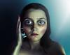 Transformation #3 (Allison Coles) Tags: surrealphotography seacreatre portraitphotography selfportrait slime blue allisoncolesphotography bigeyes eyes