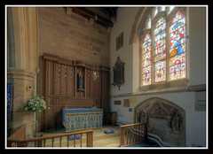 St Helens Lady Chapel (veggiesosage) Tags: ashbydelazouch leicestershire aficionados gx20 grade1listed church sthelens