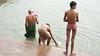 Bath-21.jpg (Karl Becker Photography) Tags: india varanasi ganges river nikon bath youngman boy man shirtless