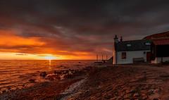 Crovie 02 (avaird44) Tags: sea water coast shore house village crovie aberdeenshire scotland evening