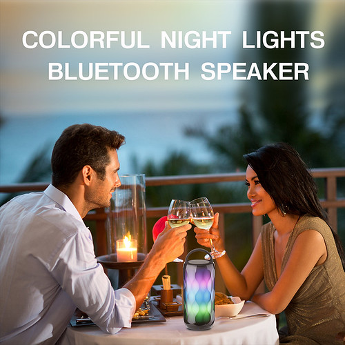 Touch Control Color Changing Speaker 18