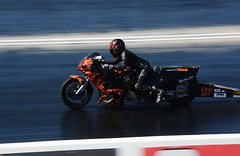 Drag bike_8536 (Fast an' Bulbous) Tags: bike biker motorcycle drag strip race track santa pod outdoor fast speed power acceleration motorsport