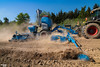 Corn Planting | LEMKEN Azurit 9 'Delta Row' Precision Planter (martin_king.photo) Tags: springwork springwork2018 claas claasxerion xerion cornplanting corn planting planter blue lemken yellow strong huge big machine sky martin king photo agriculture machinery machines tschechische republik powerfull power dynastyphotography lukaskralphotocz agricultural great day czechrepublic fans work place tschechischerepublik martinkingphoto welovefarming working modern landwirtschaft green colorful colors photogoraphy photographer canon tractor love farming daily tires onwheels outdoor dust trees tree landscape new bluesky hill world lines farm sunny red soil lens