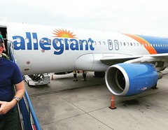 Anna Marie Island (John Barrie Photography) Tags: florida vacation tarmac airplane jet allegiantjet allegiantairlines