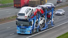 G17 ECM (panmanstan) Tags: scania g410 wagon truck lorry commercial car transporter freight transport haulage vehicle a1m fairburn yorkshire