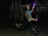 creating Sid (genelabo) Tags: sid longjohn munich münchen night bicycle nacht light projection sculpture cargo bike visuals genelabo fahrrad radl video projector casio led el wire lights